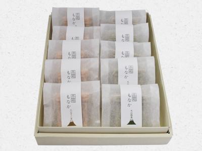 茶箱もなか10個入パッケージ