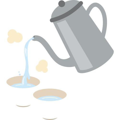 おいしいお茶の淹れ方1