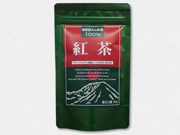 鳥取県産100%紅茶パッケージ
