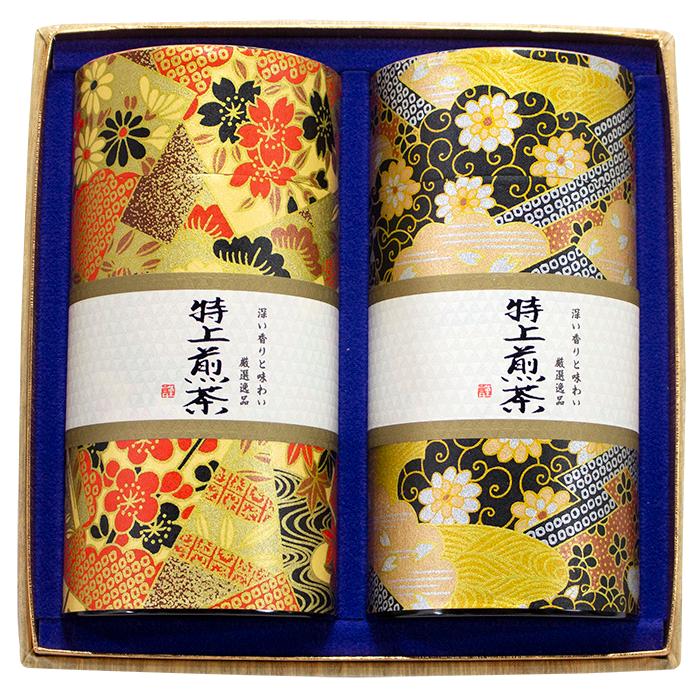 厳選逸品詰合せ(特上煎茶2本セット)AS-100