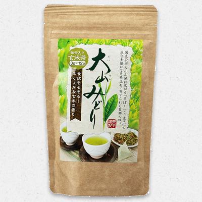 大山みどりティーバッグ抹茶入玄米茶